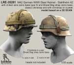 RARE-1-35-M42-German-WWII-Steel-Helmet-SALE