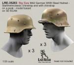 1-35-Big-Size-M42-German-WWII-Steel-Helmet