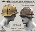 RARE-1-35-Big-Size-M42-German-WWII-Steel-Helmet-SALE