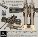 1-35-Twin-mount-M2E2-M2A1-Browning-50-Caliber-Machine-Gun-wit-flash-hider-for-HMMWV-and-GMV