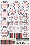 1-48-Cruz-de-Cristo-Portuguese-National-Insignia-1952-80-with-Blue-outline