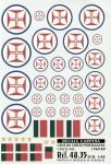 1-48-Cruz-de-Cristo-Portuguese-National-Insignia-1960-80-with-Blue-outline