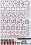 1-72-Cruz-de-Cristo-Portuguese-National-Insignia-1952-60-and-1960-80-with-Blue-outline