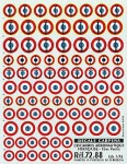 1-72-France-Roundels-Navy-In-ten-sizes-and-styles-from-6-5mm-to-16mm