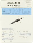 1-48-Missiles-R-33-and-stencils-2-pcs-