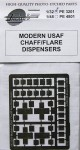 RARE-1-32-Modern-USAF-Chaff-Flare-Dispensers