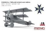 1-24-Fokker-Dr-I-Triplane-and-Blue-Max-Medal