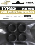1-35-Tyres-for-Vehicle-Diorama4pcs