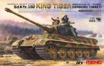 1-35-King-Tiger-Sd-Kfz-182-Henschel-Turret