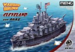 Warship-Builder-USS-Cleveland-Cartoon-Ship-Meng-Model-Kids-Caricature-Series