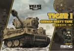 German-Tiger-I-Heavy-Tank-World-War-Toon-Meng-Model-Kids-Caricature-Series