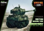 British-tank-Sherman-Firefly-World-War-Toon