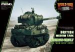 British-tank-Sherman-Firefly-World-War-Toon