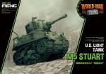 M5-Stuart-US-Light-Tank-World-War-Toon-Meng-Model-Kids-Caricature-Series
