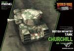 British-Infantry-Tank-Churchill-World-War-Toon-Meng-Model-Kids-Caricature-Series
