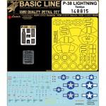 1-48-P-38-Lightning-Tamiya-Basic-Line