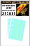 1-32-Daimler-Benz-601-Engine-Stencils