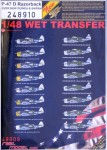 1-48-Decals-P-47D-Razorback-over-New-Guinea-and-Saipan