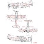 1-72-P-47D-Razorback-Riveting-Set