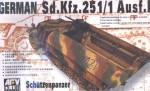 1-35-Sd-Kfz-251-1-Ausf-D-SCHUTZENPANZER-HALF-TRACK-with-Machine-Gun