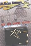 1-35-10-5cm-AMMO-BRASS-4-each-Pzgr-HI-HI-A-B-C-cartridges