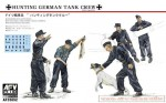 1-35-German-Hunting-Crew-5-Figures-with-Dog-Rabbits