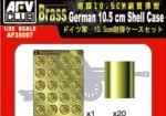 1-35-German-10-5cm-shell-cases-x-20