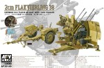 1-35-4X2cm-Flakvierling-38-with-trailer