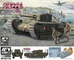 1-35-Churchill-Mk-3-Dieppie-including-workable-track