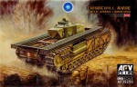 1-35-Churchill-AVRE-with-Snake-Launcher