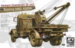 1-35-GERMAN-Kfz-100-Bussing-Nag-4500A-W-Bilstein-3T-CRANE