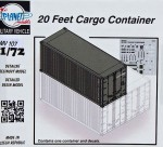 1-72-20-Feet-Cargo-Container-incl-decals