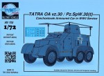 1-72-TATRA-OA-vz-30-Armoured-Car-in-WWII-service