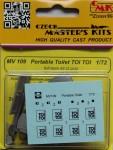 1-72-Portable-toilet-TOI-TOI-resin-kit-2-pcs-