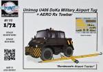 1-72-Unimog-U406-DoKa-Military-Airport-Tug+Towbar