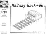 1-72-Railway-track-2pcs-+-lie