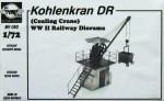 1-72-Kohlenkran-DR-Coaling-Crane-WWII-Railway