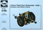 1-72-75mm-Field-Gun-Schneider-1938-2-versions