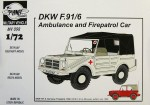 1-72-DKW-F-91P6-Ambulance-and-Firepatrol-Car