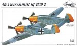 1-48-Messersch-Bf-109Z