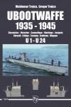 UBOOTWAFFE-1935-1945-Chronicles-Victories-Camouflage-Markings-Insignia-U1-U24