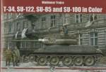 T-34-SU-122-SU-85-and-SU-100-in-COLOR