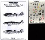 RARE-1-72-FOCKE-WULF-FW-190A-PT-1-SALE-