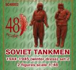 1-72-Soviet-tankmen-1944-1945-winter-dress-set-2-resin