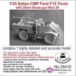 1-35-Italian-CMP-Ford-F15-truck-with-20mm-Breda-gun