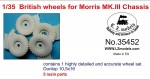 1-35-British-resin-wheels-for-Morris-MKIII-chassis