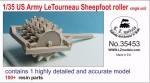 1-35-US-Army-LeTourneau-Sheepfoot-roller-single