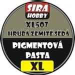 HRUBA-ZEMITE-SEDA-COARSE-EARTHY-GRAY-Pigment-paste-100ml