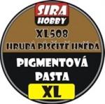 HRUBA-PISCITE-HNEDA-COARSE-SANDY-BROWN-Pigment-paste-100ml