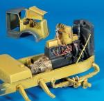 1-35-Engine-compartment-detail-set-Opel-Blitz-Italeri